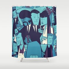 PULP FICTION variant Shower Curtain