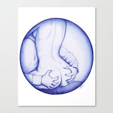 Squeeze, BIC love Canvas Print