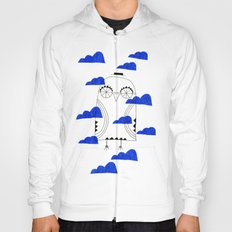 Blue Clouds Hoody