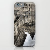 iPhone Cases featuring City Reflection by Caroline Benzies Photography