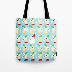 Unicorn Santa And Elves Tote Bag
