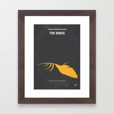 No110 My Birds Minimal M… Framed Art Print