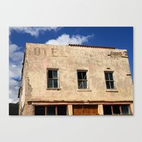 Hotel - Closed For Busin… Canvas Print