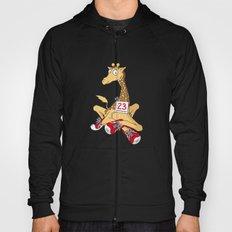 Giraffe with trainers Hoody