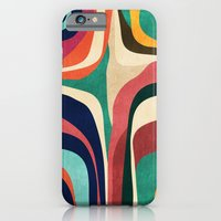 iPhone Cases featuring Impossible contour map by Budi Kwan