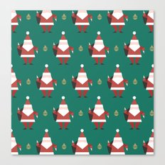 Day 10/25 Advent - Folding Santa Canvas Print