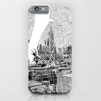 iPhone & iPod Case featuring New York by Nicolas Jolly