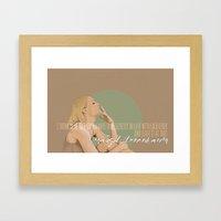 Margot Helen Tenenbaum Framed Art Print