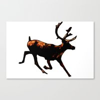 The Mighty Moose Mongoos… Canvas Print