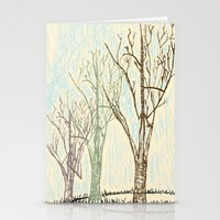 A Winters Sketch Stationery Cards