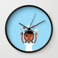 One Scoop Or Two? Wall Clock