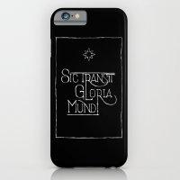 Sic Transit Gloria Mundi (black) iPhone 6 Slim Case