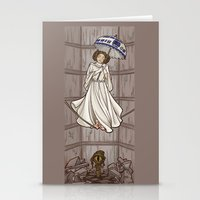 Leia's Corruptible Morta… Stationery Cards