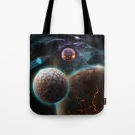 Deep Space Flare Tote Bag