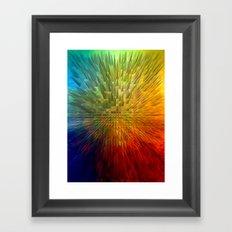My Spectrum Framed Art Print