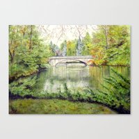 Racine, Fall'13 Canvas Print