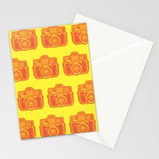 I Still Shoot Film Holga Logo - Yellow & Red Stationery Cards