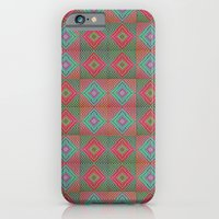 iPhone & iPod Case featuring Colonial Rug Pattern by Peter Gross