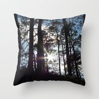Sunlight In The Dark For… Throw Pillow