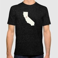 Nest Mens Fitted Tee Tri-Black SMALL