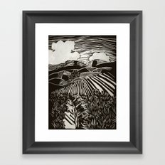 California Hills Framed Art Print