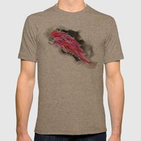 Tentacle man Mens Fitted Tee Tri-Coffee SMALL