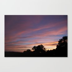 And Evening Of... Canvas Print