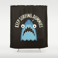 Great White Snark Shower Curtain