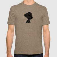 silhouette - scattered dreams Mens Fitted Tee Tri-Coffee SMALL