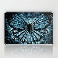 My Blue Butterfly Laptop & iPad Skin