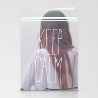Wander (Keep Calm) Stationery Cards
