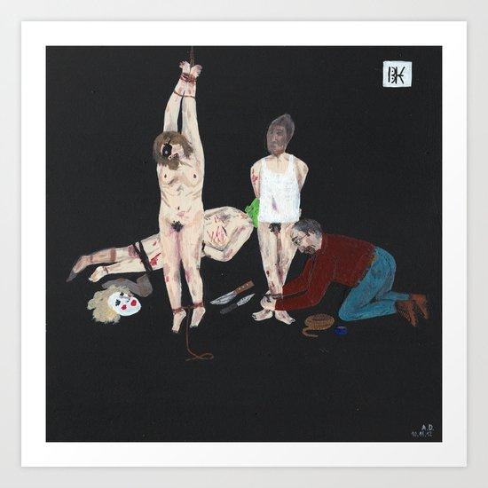 Btk Killer Art Print By Angela Dalinger Society6