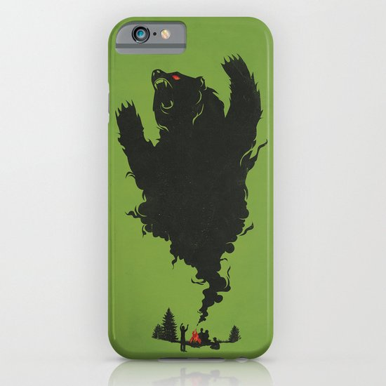 .. and There was Fire in its Eyes iPhone & iPod Case