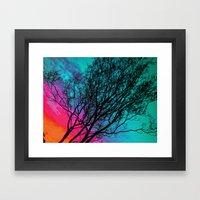 Behind The Ol' Crape Myr… Framed Art Print