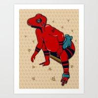 Sumo(すもう) Art Print