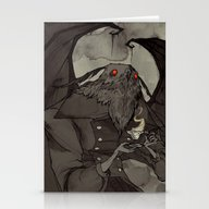 Mothman's Teatime Stationery Cards