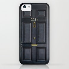 Classic Old sherlock holmes 221b door iPhone 4 4s 5 5c, ipod, ipad, tshirt, mugs and pillow case iPhone 5c Slim Case