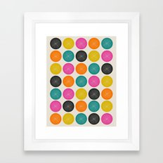 Circles 3 Framed Art Print