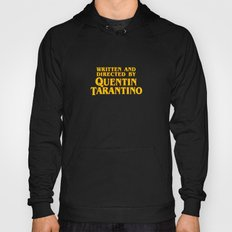 Written and Directed by Quentin Tarantino (yellow variant) Hoody
