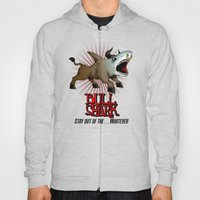 Bull Shark Version 2 Animal Series by RonkyTonk Hoody