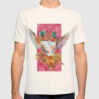 The Ultimate Pollinator Mens Fitted Tee Natural SMALL