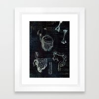 Organs Framed Art Print