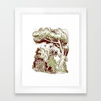 Intersectional Nature Framed Art Print