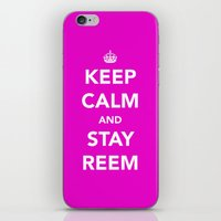 Keep Calm And Stay Reem iPhone & iPod Skin