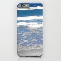faded beach iPhone 6 Slim Case