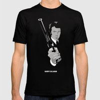 Harry Callahan - Clint Eastwood Mens Fitted Tee Black SMALL