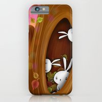 iPhone & iPod Case featuring Bunny tree by MindyLouHagan