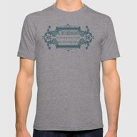 Little Quotes - On Chris… Mens Fitted Tee Athletic Grey SMALL