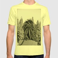 Love Life Mens Fitted Tee Lemon SMALL