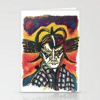 Kabuki Fever Stationery Cards